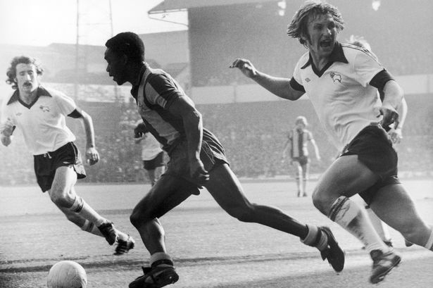 Laurie-Cunningham-of-West-Bromwich-Albion-in-action-v-Derby-County-Colin-Todd-right-1978