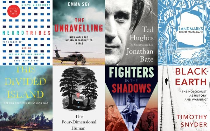 Two Aitken Alexander authors on Samuel Johnson Prize Longlist