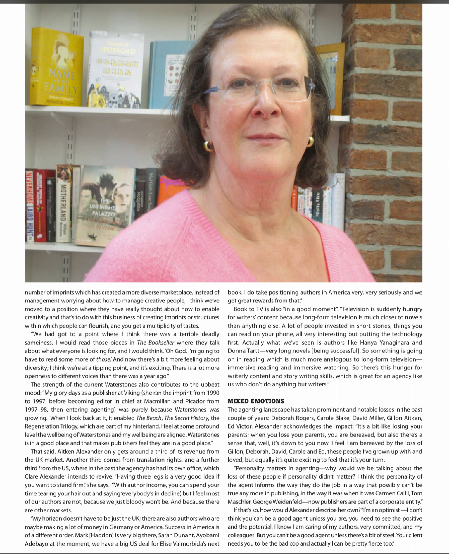 Clare Bookseller 2