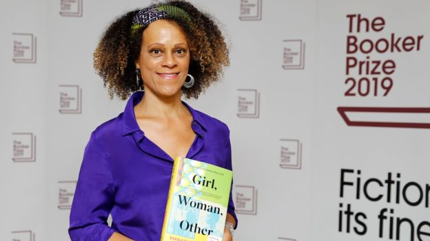 Bernardine Evaristo wins the 2019 Booker Prize